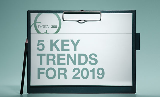 5 key trends for 2019